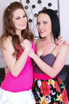 Big booty porn stars Allison Moore and Katie St. Ives on BacksideBonanza.com